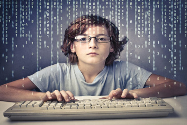 Mi sobrino hace paginas Web