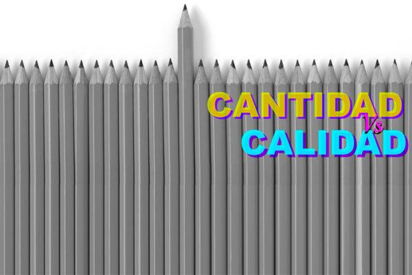 Contenido, Cantidad vs. Calidad